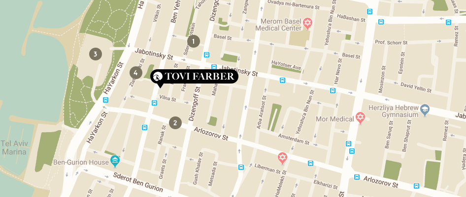 map tovi farber